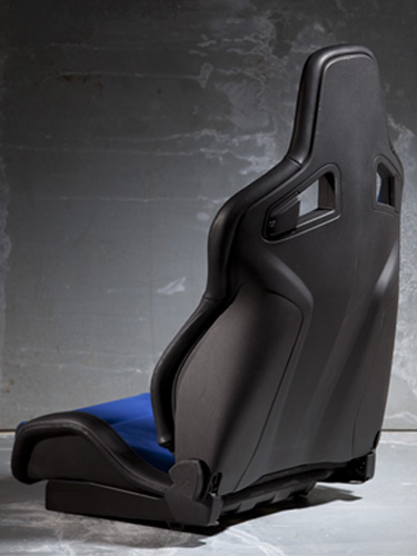 Car seat shell in NYLAFORCE®