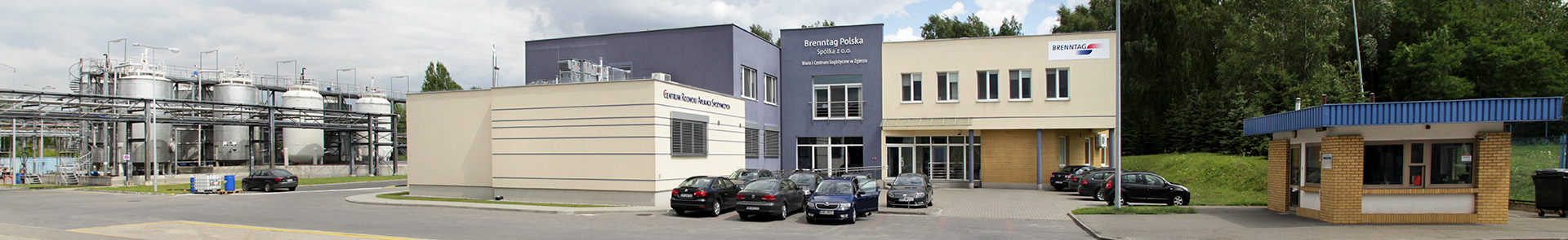 Logistic center in Zgierz