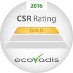 Ecovadis CSR rating 2016