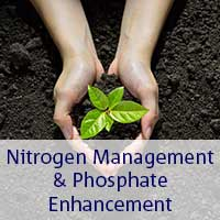 nitrogen management and phosphate enhancement