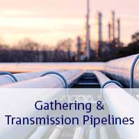 gathering and transmission pipelines
