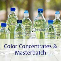 color concentrates and masterbatch
