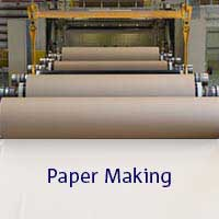 brown rolls of paper