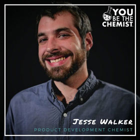 Chemistry Career: Jesse Walker Headshot