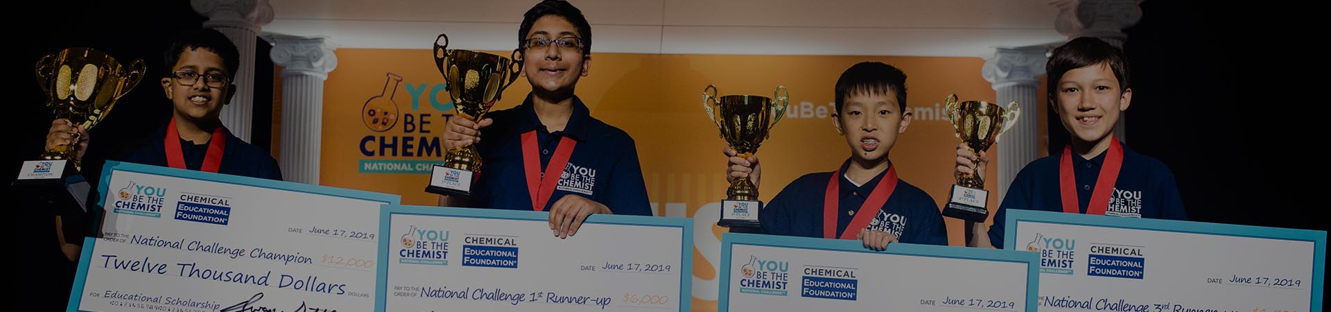 You be the Chemist 2019 Winners