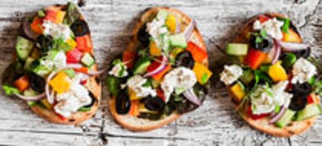 Veggie Flat Bread Made with Additives