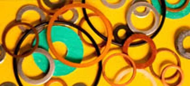 Rubber Washers Made with Chemicals