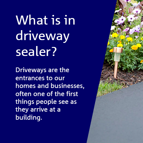 What is in driveway sealer