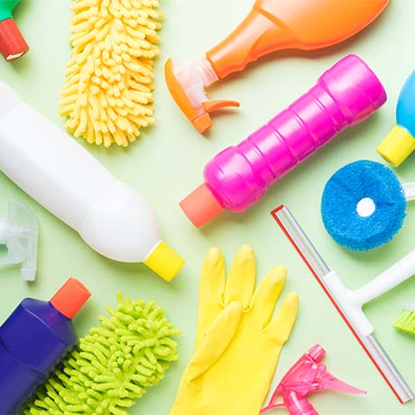 Cleaning products gear