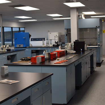 Coatings & Construction lab located in Allentown, PA