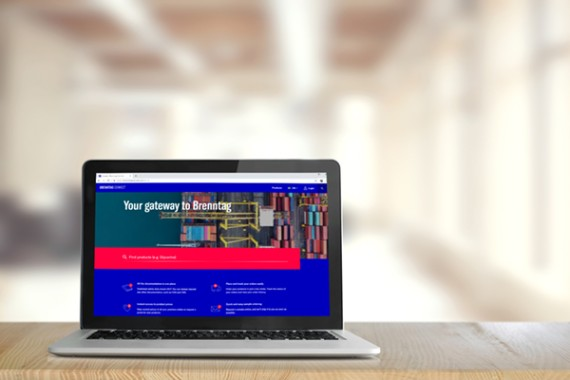 Brenntag connect, brenntag nordic customer portal
